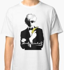 Andy Warhol is the 007 of Art Classic T-Shirt