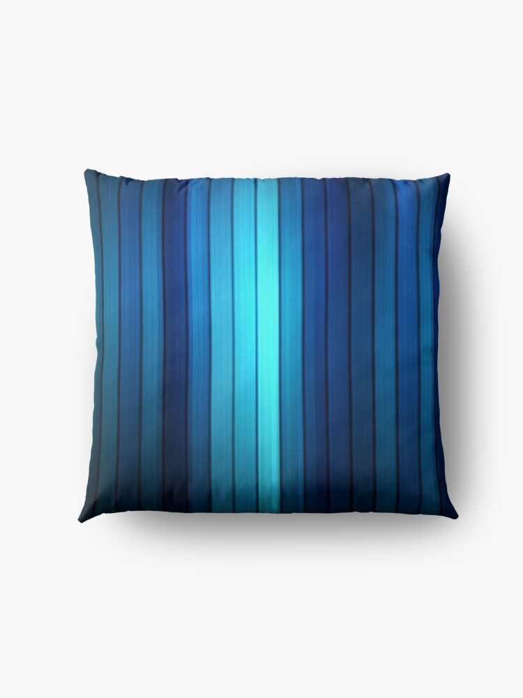 Alternate view of Blue pattern Floor Pillow