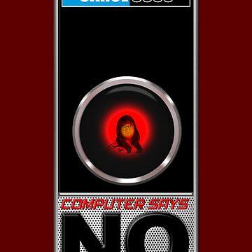Hal and Carol Beer Computer Says No! by McPod