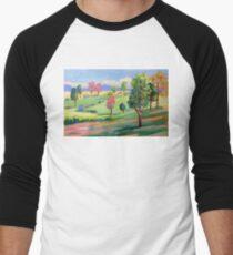 Tamborine Mountain Golf Course  Men's Baseball ¾ T-Shirt