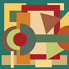Abstract geometric composition study- Picture frame by Valentina Kolar