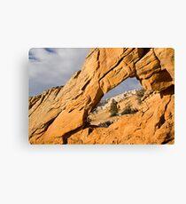 Window to Split Mountain Canvas Print