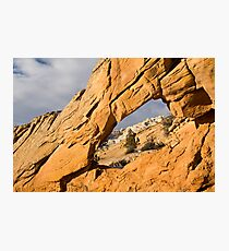 Window to Split Mountain Photographic Print