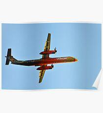 Horizon Air 25th anniversary paint scheme Poster