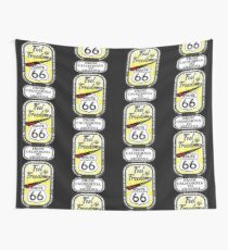 Feel the Freedom Since 1926 Route 66 from California to Arizona Novelty Gifts. Wall Tapestry