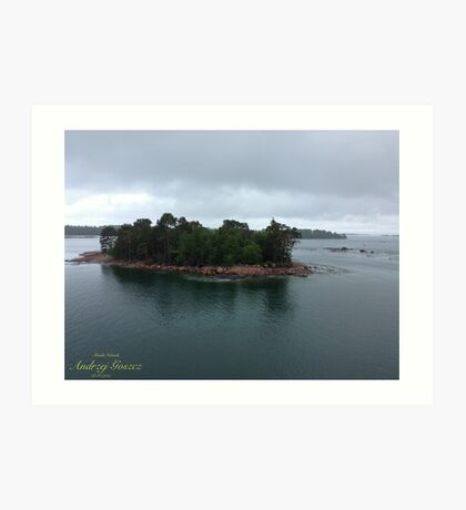 How wonderful life is now you're in the world. This is my song .  Åland Islands . Art Print