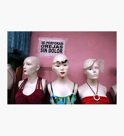 Shabby Girls 0516 / Iquitos, Peru  Photographic Print