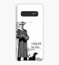 A Dog and His Man. Case/Skin for Samsung Galaxy