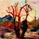 Arizona Desert - Landscape Abstract by CJ Anderson