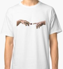 Die Schöpfung von Adam - Champion Classic T-Shirt