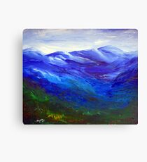The Dragon Mountain Canvas Print