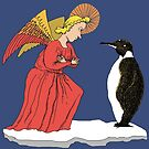 Penguin and Angel by SusanSanford