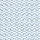Crosshatch Blue by Eric Pauker
