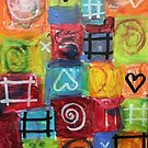 Crazy Hearts by ArtBuzzStudio