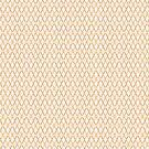 Crosshatch Yellow by Eric Pauker