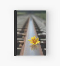 Waiting for the train... Hardcover Journal