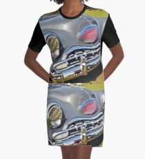 Melted car Graphic T-Shirt Dress