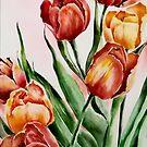 Tulips by AdrianaMijaiche