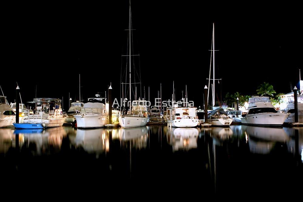 An Evening at the Marina - Hamilton Island, Australia  by Alfredo Estrella