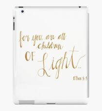 Children of Light iPad Case/Skin