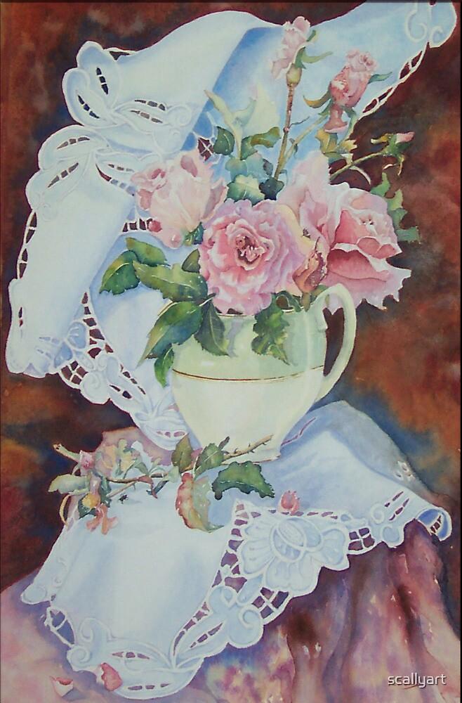 Bridal Pink by scallyart