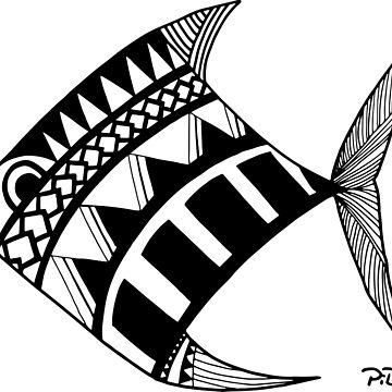 Maori Fish by cartoonblog