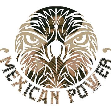 Mexican Power - Mexican Eagle with Pancho Villa  by xulyer