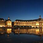 Bordeauxwasserplasterung nachts von graceloves