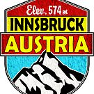 Innsbruck Austria by MyHandmadeSigns