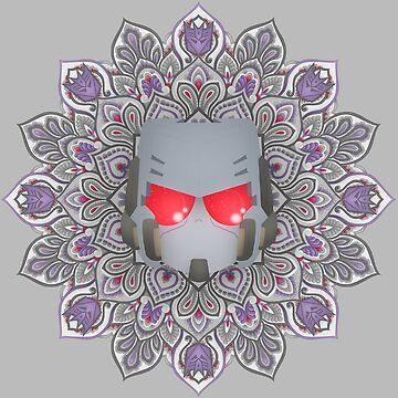 Megatron Mandala ~ Transformers by Chioccetta