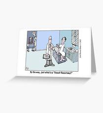 a ''revolutionary'' procedure Greeting Card