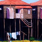 Washday Highgate Hill by Cary McAulay
