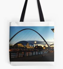 Newcastle Millennium Bridge Tote Bag