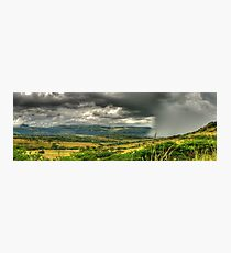 The Calm Before The Storm Panoramic Photographic Print