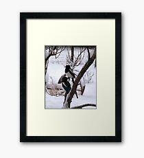 Spring Snows Framed Print