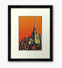 Abstract Christianity Framed Print