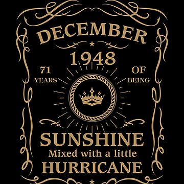 August 1948 Sunshine Mixed With A Little Hurricane by lavatarnt