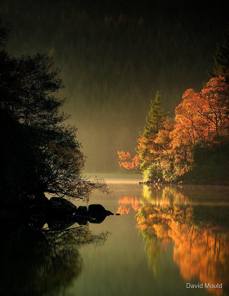 Loch Ard Autumn Glow by David Mould