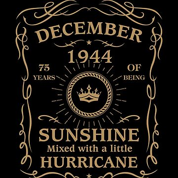 August 1944 Sunshine Mixed With A Little Hurricane by lavatarnt