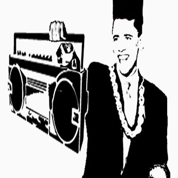 Old Skool Obama by Sparc