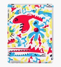 Kid Zoo Doodle iPad Case/Skin
