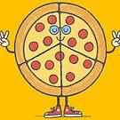 Pizza & Liebe von Jorge Lopez