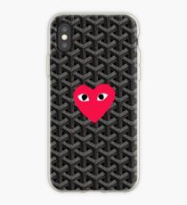 sale retailer 45f2a da063 Comme Des Garcons Heart iPhone cases & covers for XS/XS Max, XR, X ...