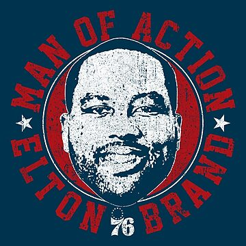 Elton Brand - Man of Action by huckblade