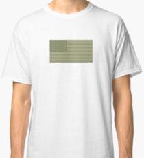 Camo Sternenbanner - USA Flagge militärische Camouflage Farben Classic T-Shirt