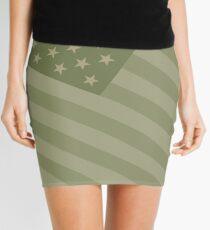 Camo Sternenbanner - USA Flagge militärische Camouflage Farben Minirock