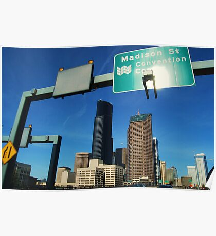 Freeway to Seattle Poster