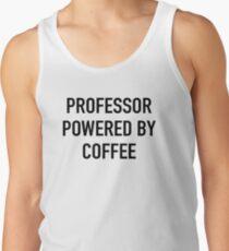 Professor Powered By Coffee Men's Tank Top