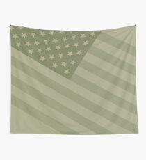 Camo Sternenbanner - USA Flagge militärische Camouflage Farben Wandbehang