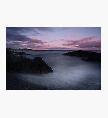 Storm Moon-Crosshaven Co. Cork Photographic Print